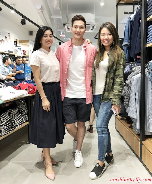 Giordano Malaysia, First Flagship Store, Bukit Bintang, Giordano Spring Summer 2018, Team Family Collection