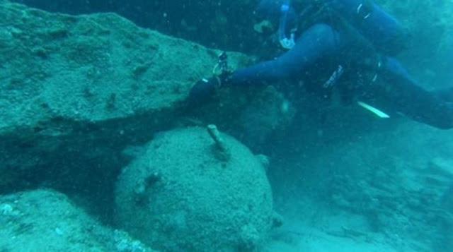 Εντοπίστηκε ενεργή νάρκη λίγα μέτρα από παραλία της Σκοπέλου