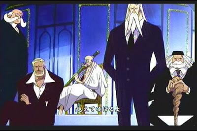 orang tetua yang berada dipuncak Pemerintahan Dunia 5 Fakta Misterius Tentang Gorosei. Beberapa fakta menguatkan teori bahwa Gorosei itu abadi