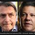 Ibope: Bolsonaro vai a 32%; Haddad avança 2 pontos e tem 23%