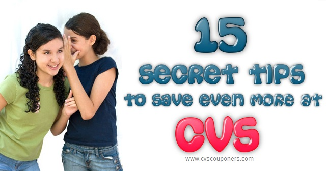 15 Secret Tips to Save Even More at CVS!