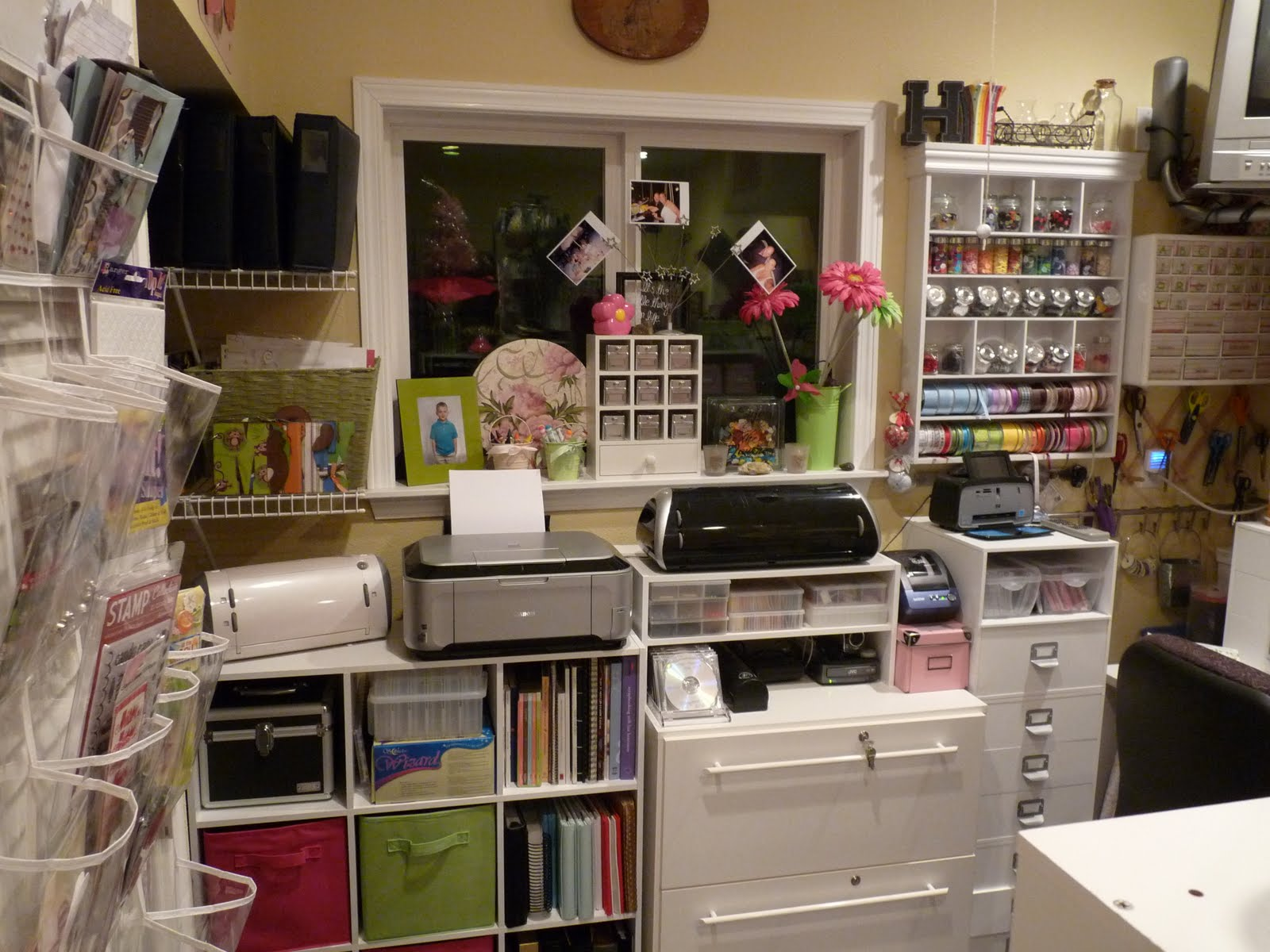 Crafty Storage Heather S Craft Room