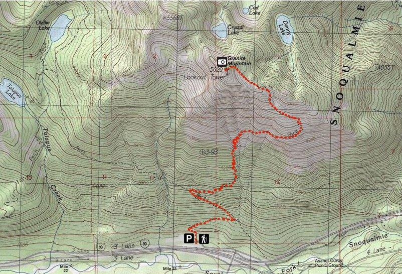 off on adventure granite mountain alpine lakes wilderness wa