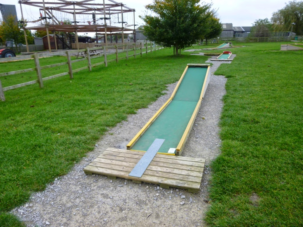 Mini Golf at Mead Open Farm