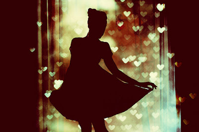 Heart in shadows.