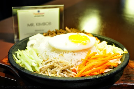 Bibimbob from Mr. Kimbob SM Fairview Foodcourt