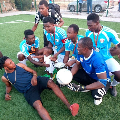 Image result for photos: f.c cola football academy make history win morocco international cup
