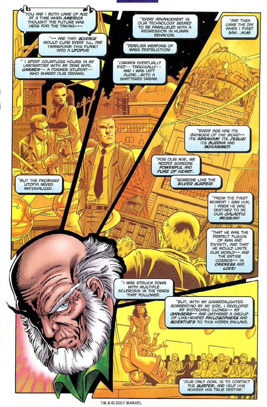 Read online Silver Surfer (1987) comic -  Issue #132 - 21