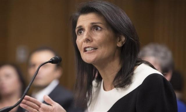 هايلي مجلس الأمن سيعقد 3 جلسات الجمعة لمناقشة الأوضاع في سوريا من بينها إدلب؟