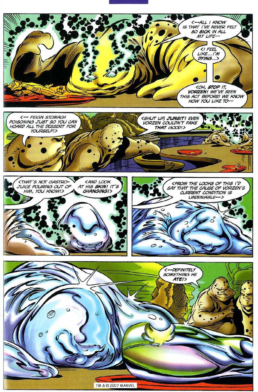 Read online Silver Surfer (1987) comic -  Issue #116 - 21