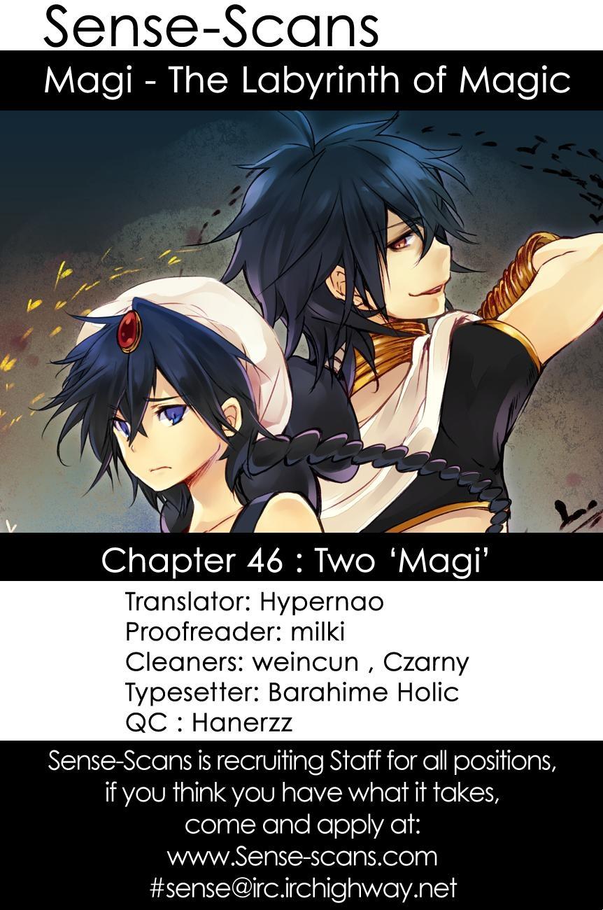 Magi The Labyrinth of magic chapter 46 trang 1