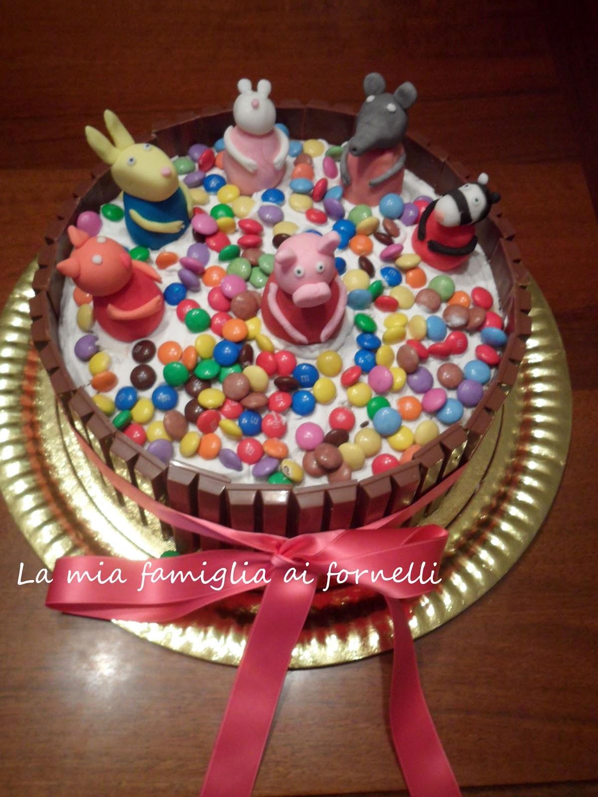 La Mia Famiglia Ai Fornelli Torta Di Compleanno Peppa Pig