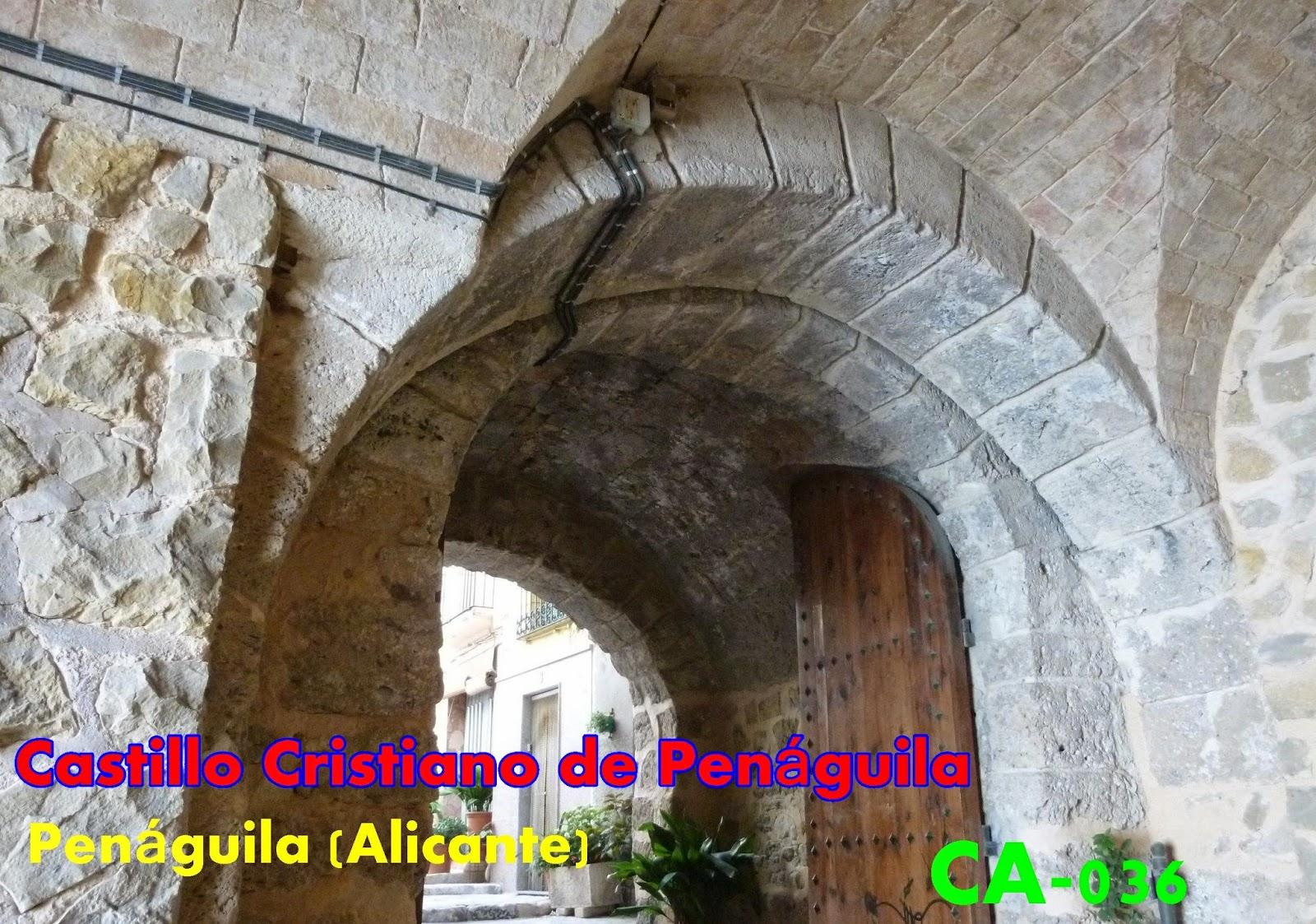 Resultado de imagen de Castillo de Penáguila
