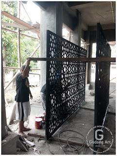 pengrajin cor aluminium masjid
