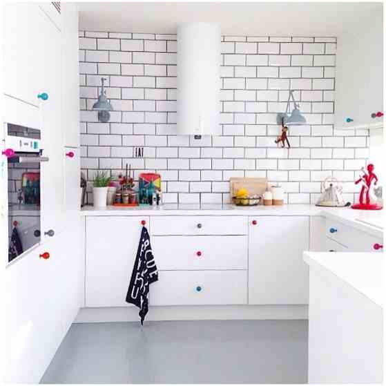 warna cat dapur minimalis rumah type 36