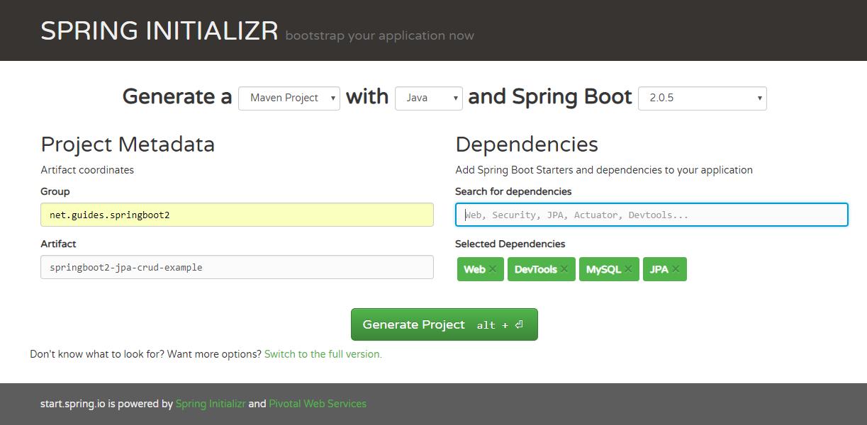 Spring Boot 2 + Angular 7 CRUD Example Tutorial