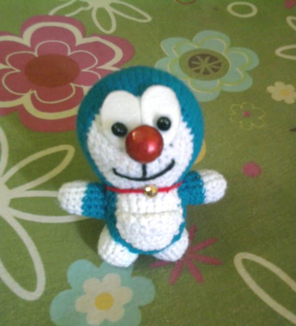 Doraemon crochet | Patrones amigurumi, Móvil de ganchillo, Ganchillo | 640x582