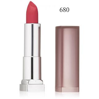 Son môi Maybeline Color Sensational Creamy Matte 680 Mesmerizing Magenta - SM015