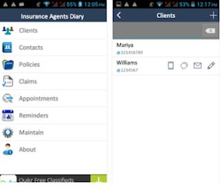 Insurance Agents Diary