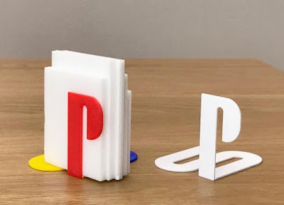 Playstation Bookends
