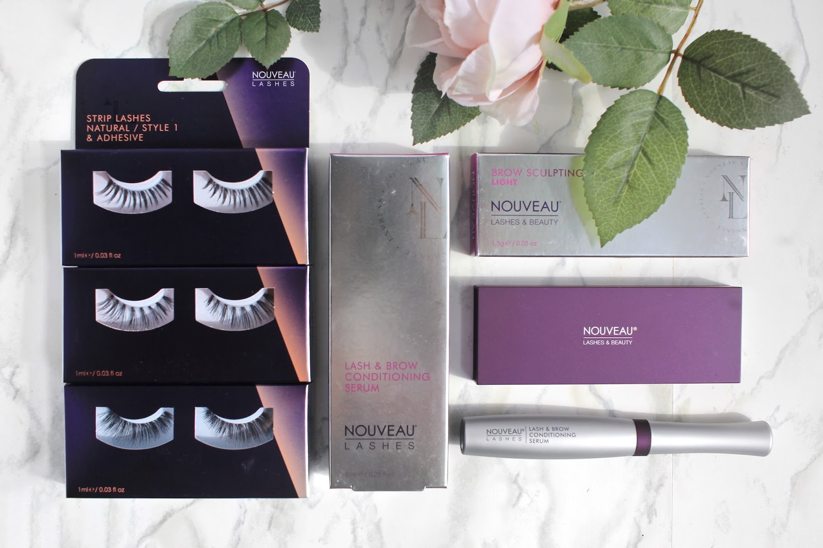 New In | Nouveau Lashes Haul and First Impressions || The Glam Surge
