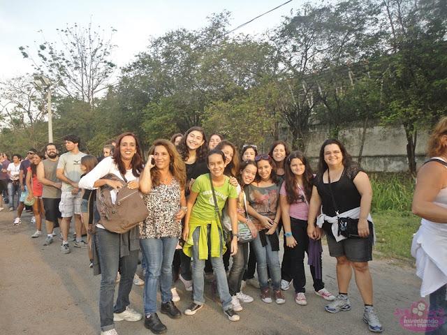 Rock in Rio com crianças