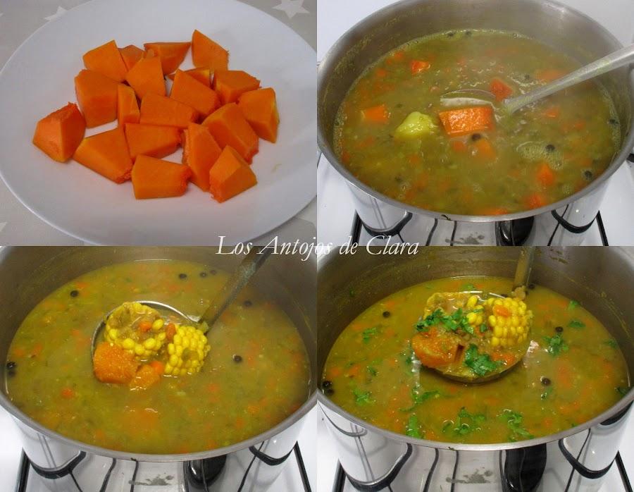 Receta sopa de lentejas