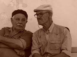 Funny Two Old Men Porch Joke Image