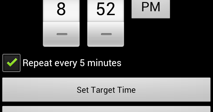 Android-er: schedule a repeating alarm