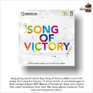 Official Theme Song Asian Para Games