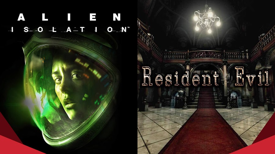 alien survival horror capcom sega humble bundle resident evil
