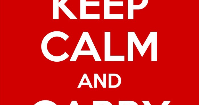"""Keep Calm And Carry On"":site Para Fazer O Cartaz, Como"