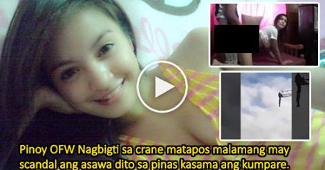 Nagbigti Ang Isang Pinoy OFW Sa Saudi Matapos Malamang May Video Scandal Ang Asawa Dito Sa Pilipinas Kasama Ang Kumpare Nila