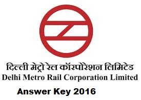 DMRC Answer Key Paper 2016 Solved Question Paper