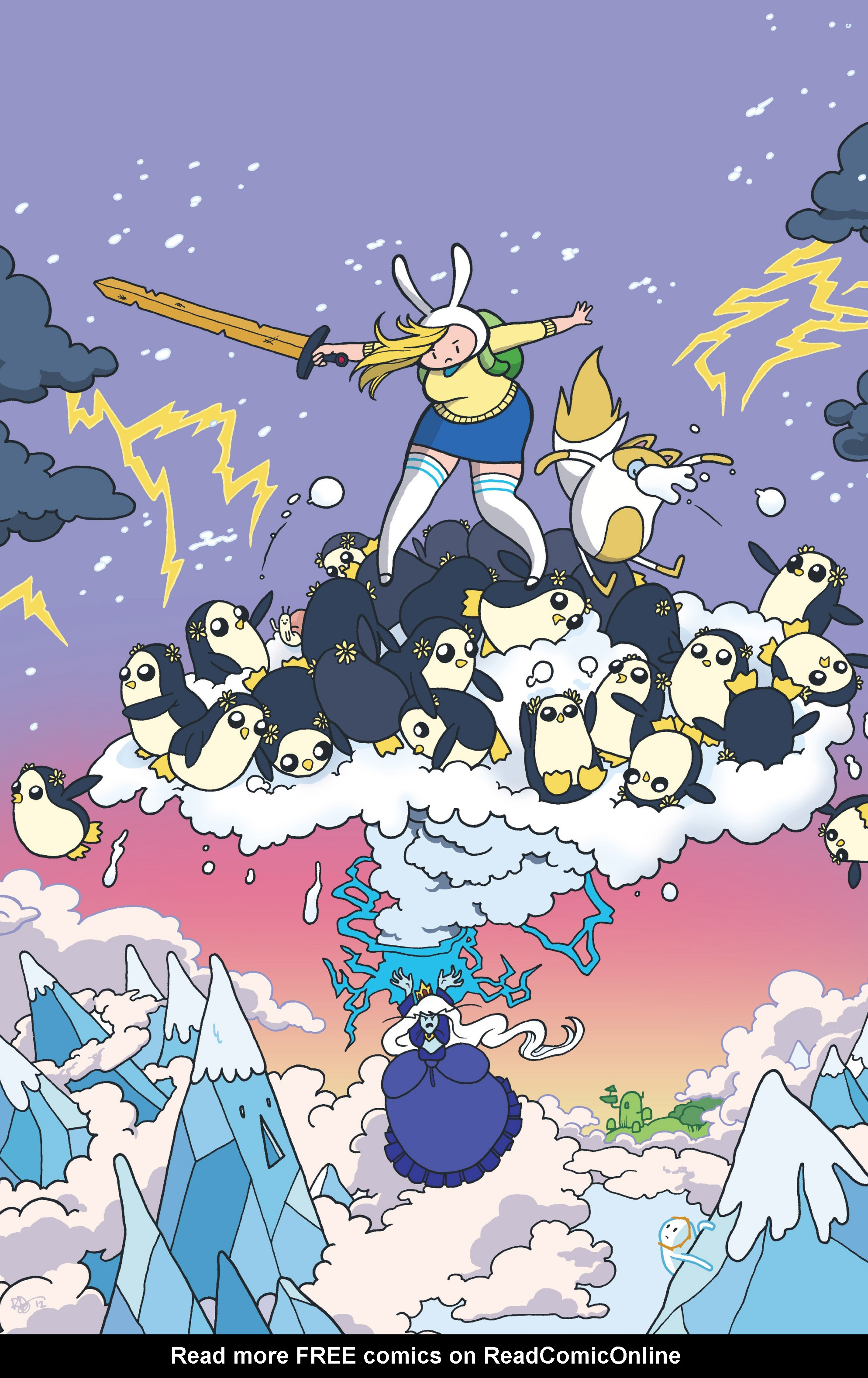 Read online Adventure Time with Fionna & Cake comic -  Issue #4 - 3