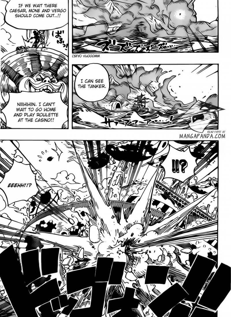 One Piece Ch 692: The Assassin From Dressrosa
