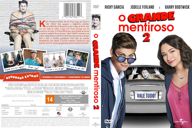 Capa DVD O Grande Mentiroso 2 [Exclusiva]