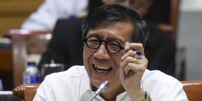 Menteri Yasonna Terima 84 Ribu Dolar AS Hasil Korupsi e-KTP di Ruang Kerjanya