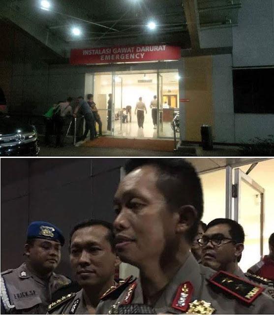Polisi yang Ditembak Pencuri Motor, dapat Donor Darah dari Kapolda Metro Jaya