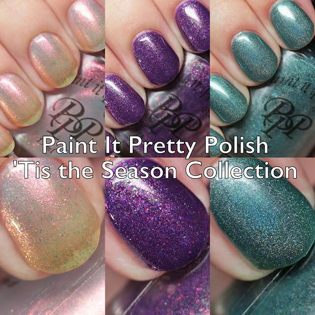Paint It Pretty Polish 'Tis the Season Collection