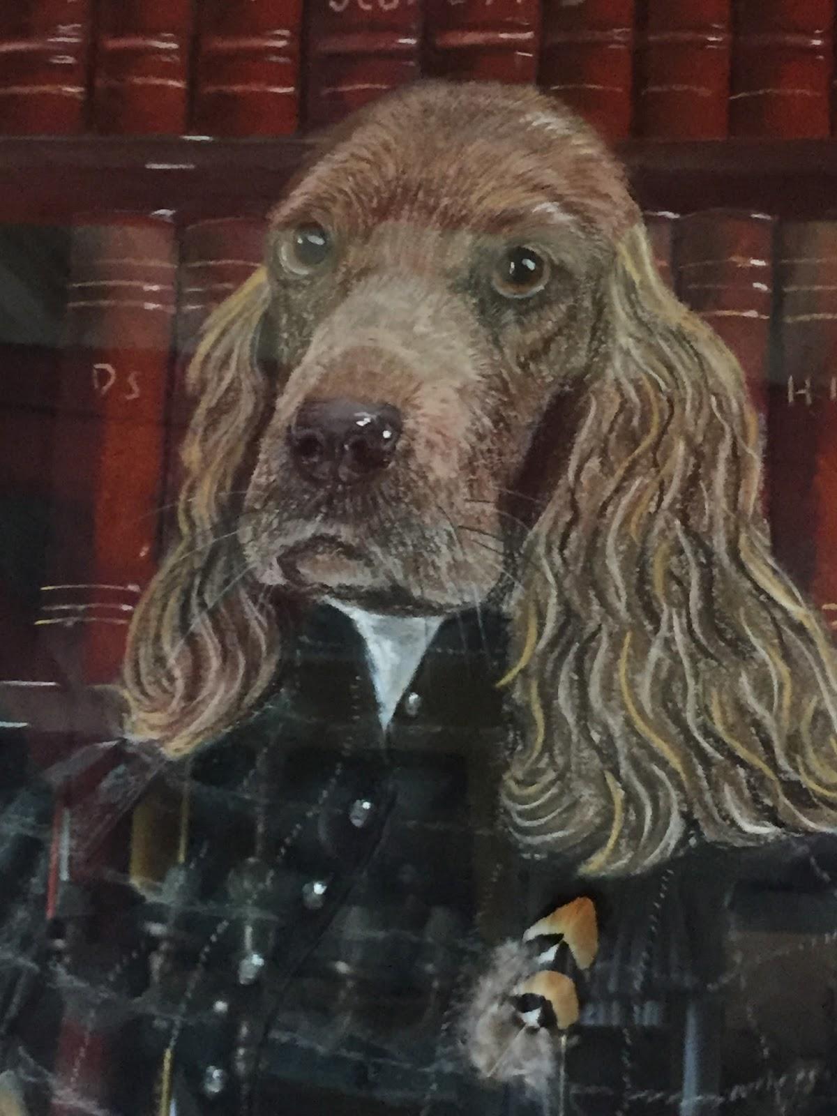 Les puces de la bult e grand pastel la chienne cocker lisant la grouse de jean christophe La table italienne senlis
