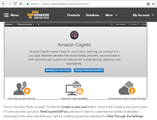 AWS Cognito provides mobile app authentication ~ Converge! Network