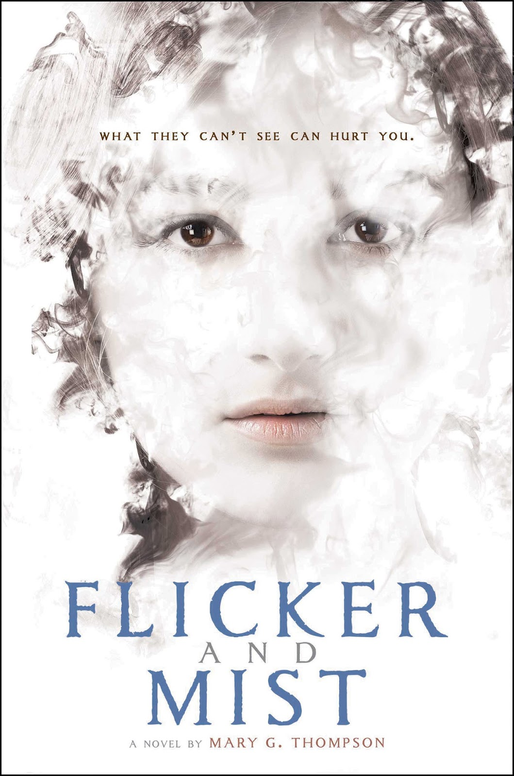 Title: Flicker And Mist Author: Mary G Thompson Pub Date: January 3,  2017 Publisher: Clarion Books Pages: 384 Formats: Hardcover, Ebook