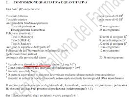 Alluminio-vaccini-composizione-quantitativa-qualitativa