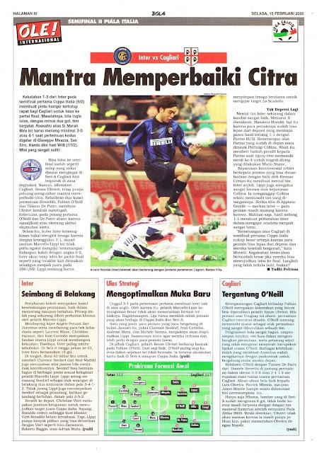 INTER VS CAGLIARI MANTRA MEMPERBAIKI CITRA