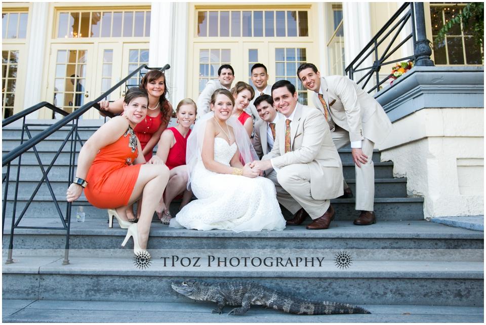 Wedding Reception Maryland Zoo Mansion House Baltimore Alligator