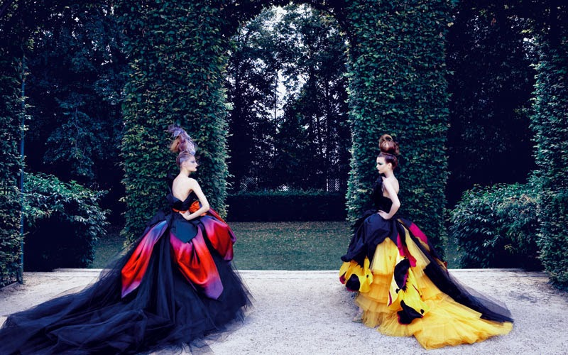 Dior Couture by Patrick Demarchelier | Ses Rêveries | Ses Rêveries