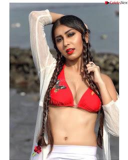 Ruma Sharma in Red Sports .xyz Exclusive Pics