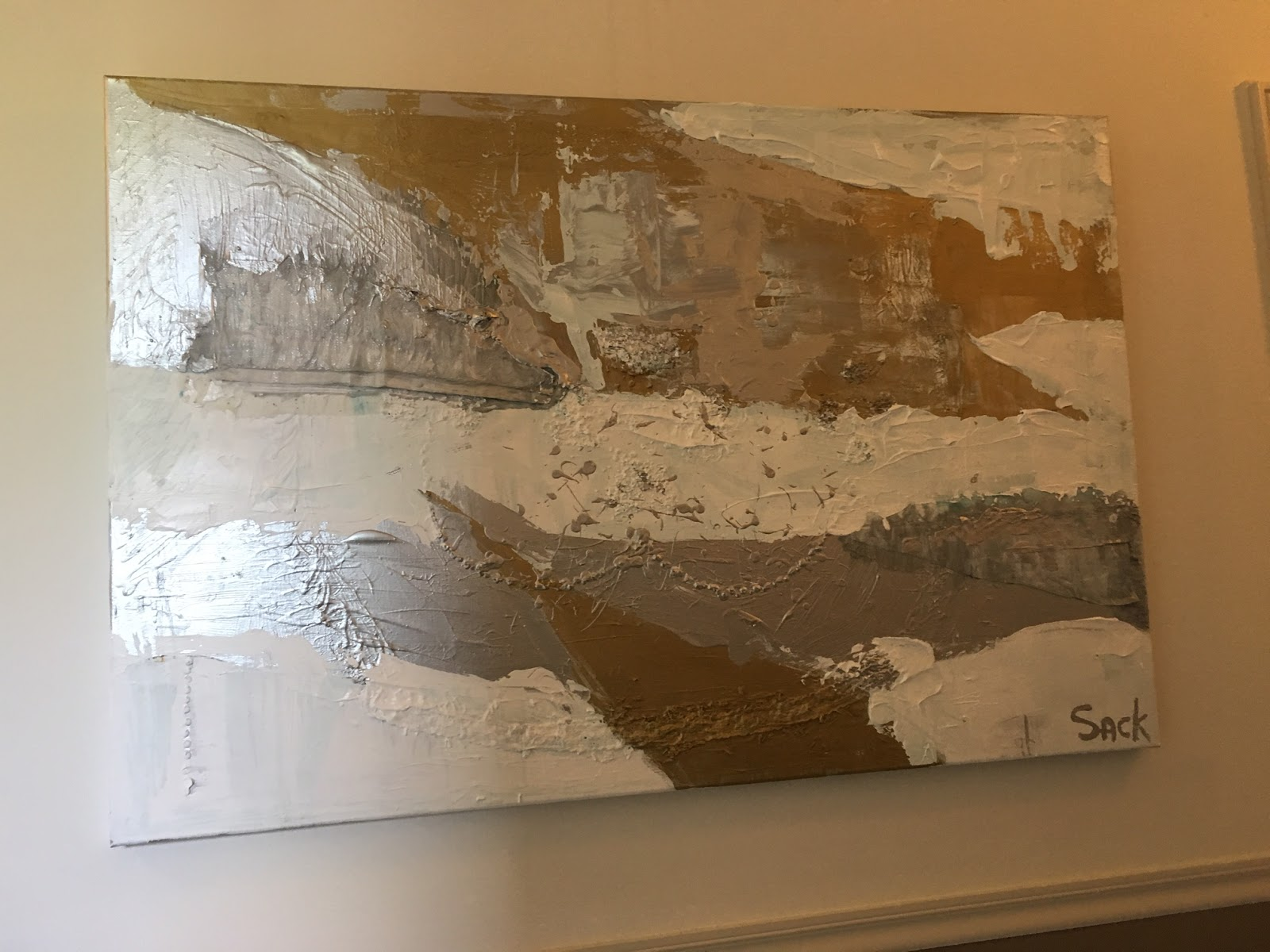 Vaak Abstracte schilderijen   sack atelier &QL27