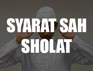 Syarat Sah Sholat